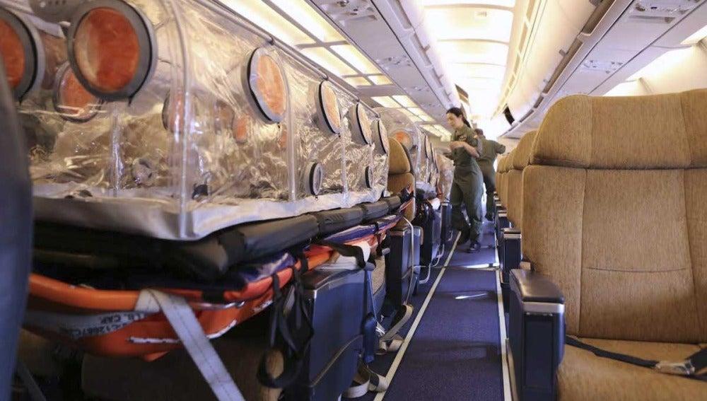 Avión medicalizado para trasladar al religioso enfermo de ébola