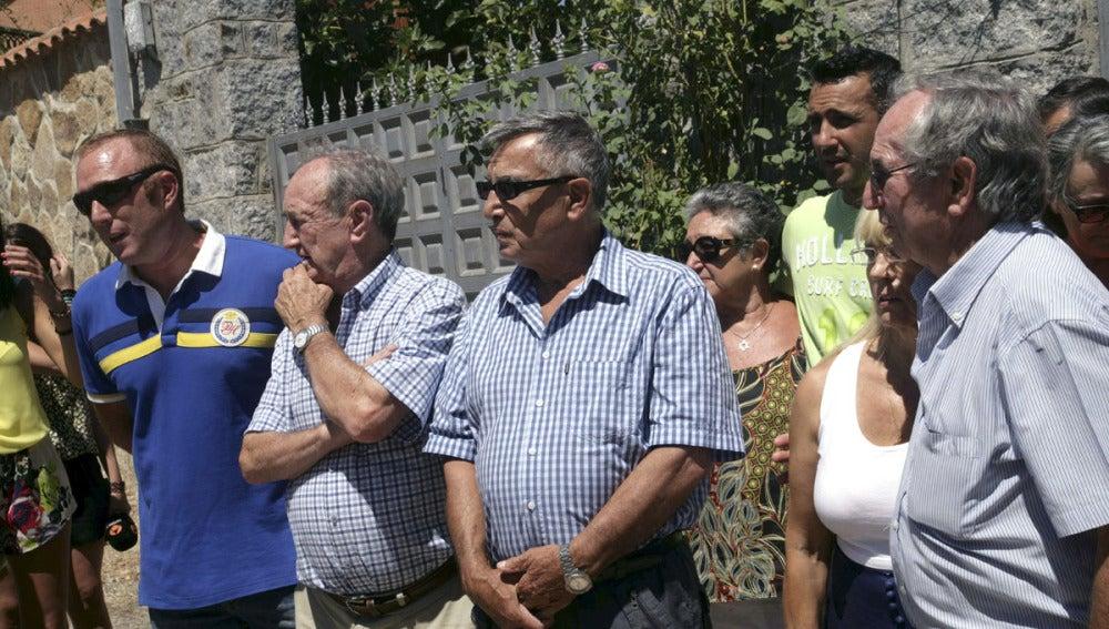 Familiares de Miguel Pajares