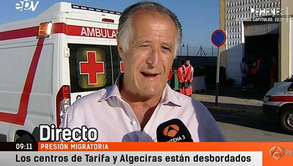 El alcalde de Tarifa, Juan Andrés Gil