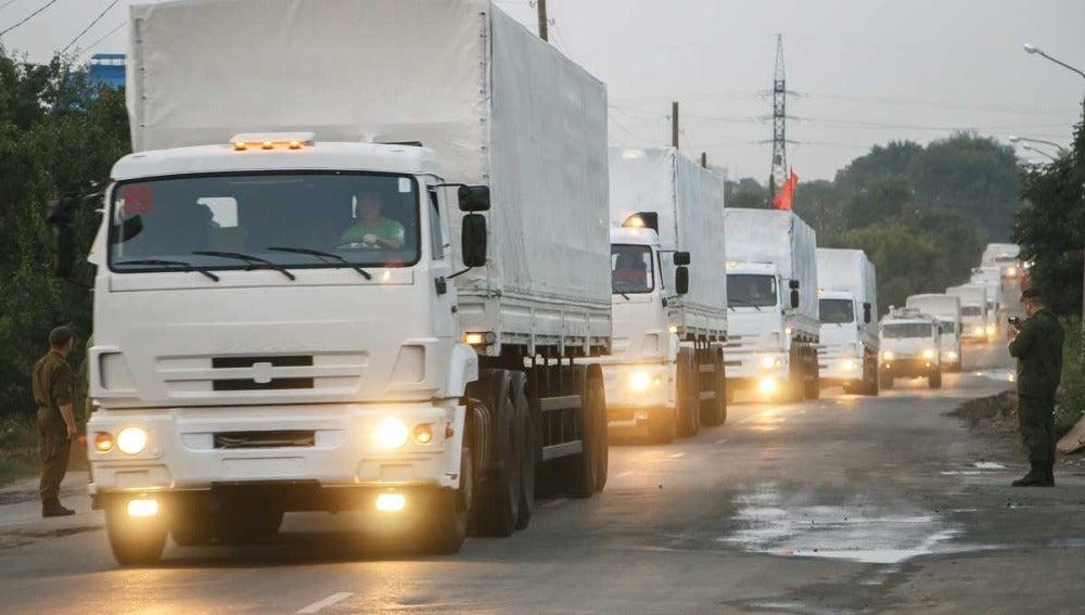 Convoy humanitario ruso