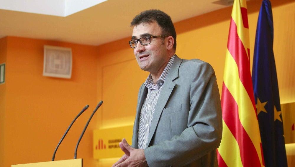 Lluís Salvadó, el secretario de Hacienda de la Generalitat