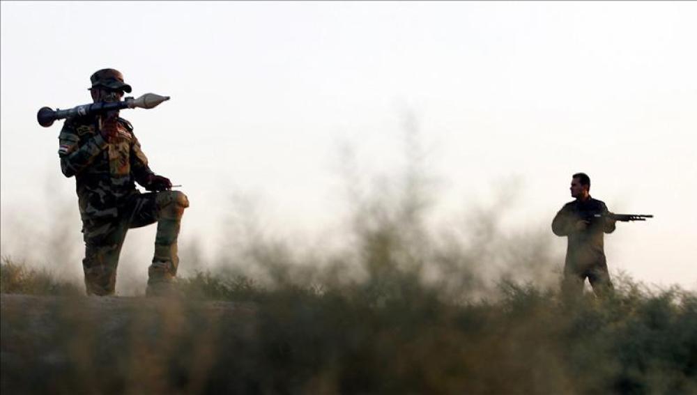 Yihadistas en Mosul
