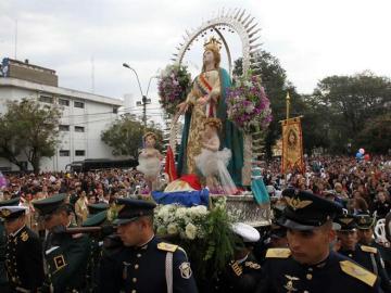 Virgen de la Asunción, en Paraguay