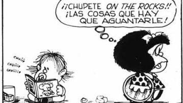 Mafalda On the rocks