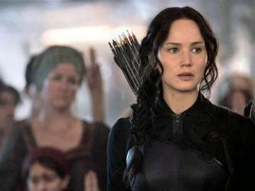 2.Katniss Everdeen en 'Los Juegos del Hambre: Sinsajo Parte 1' y 'Parte 2' (Fase de post-producción)