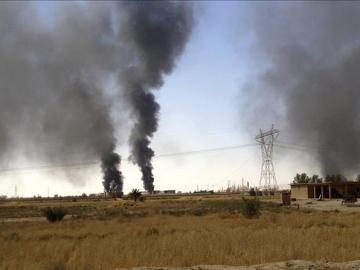 Las fuerzas kurdas recuperan gran parte de la presa de Mosul