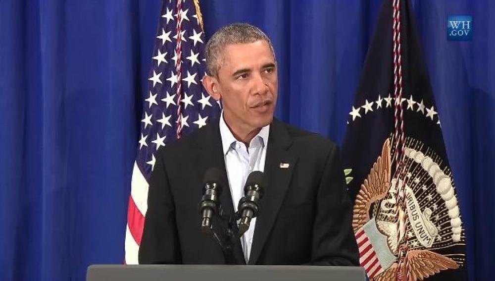 Barack Obama, tras el asesinato de Foley