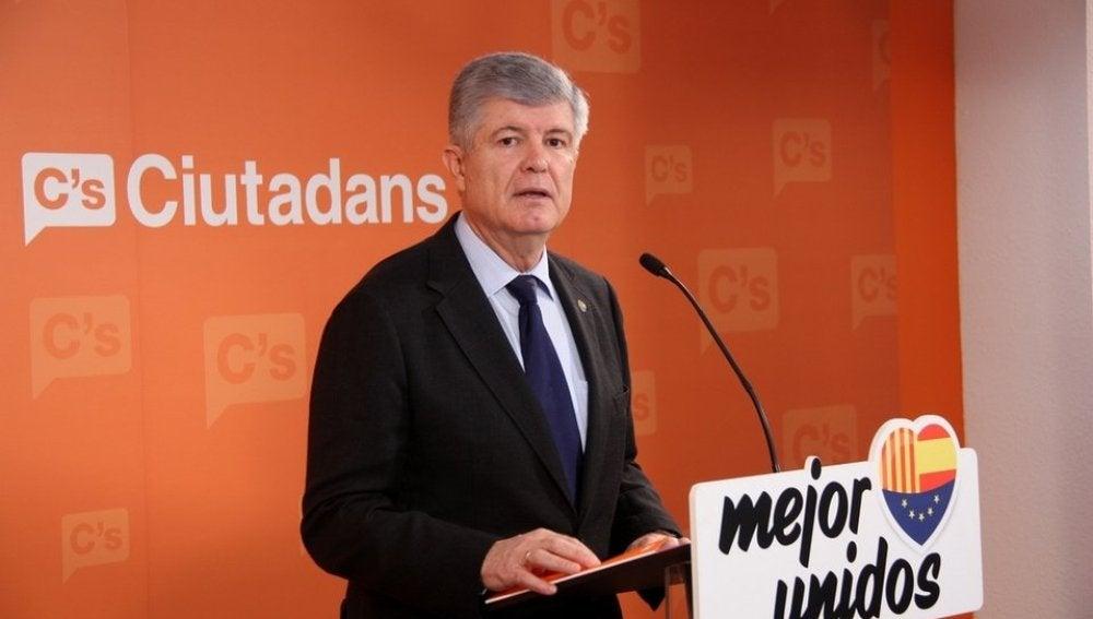 El secretario general y portavoz de Ciutadans, Matías Alonso