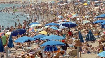 España recibió en los siete primeros meses del año a 36,3 millones de turistas extranjeros