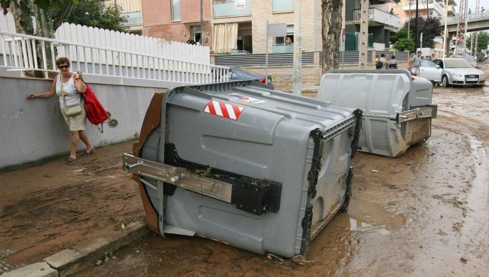 Consecuencias de las inundaciones en Tarragona