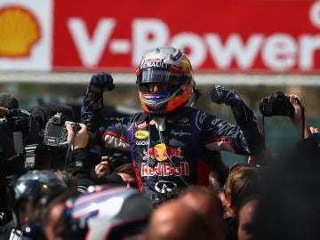 Ricciardo, tras su triunfo en Bélgica