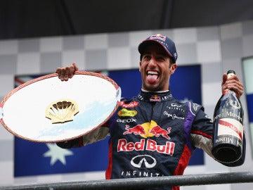 Ricciardo, eufórico