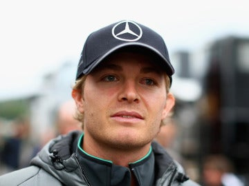 Nico Rosberg, en Bélgica