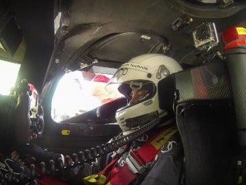 Lobato se sube al Audi R18 que ganó las 24 Horas de Le Mans