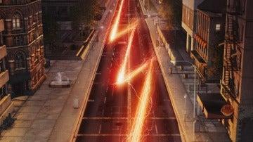 Barry Allen corre a la velocidad de un rayo en el nuevo cartel de 'The Flash'