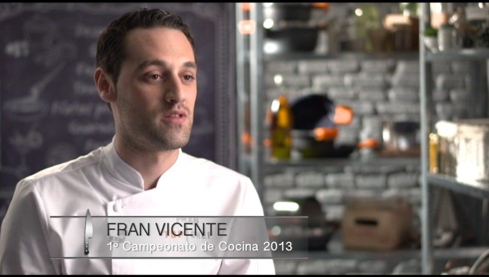 """Fran Vicente: """"He estado en diferentes concursos y los he ganado todos"""""""