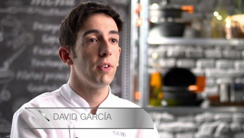 """David García: """"No soportaría que se rieran de mí"""""""