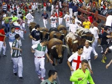 Cuarto encierro de San Sebastián de los Reyes