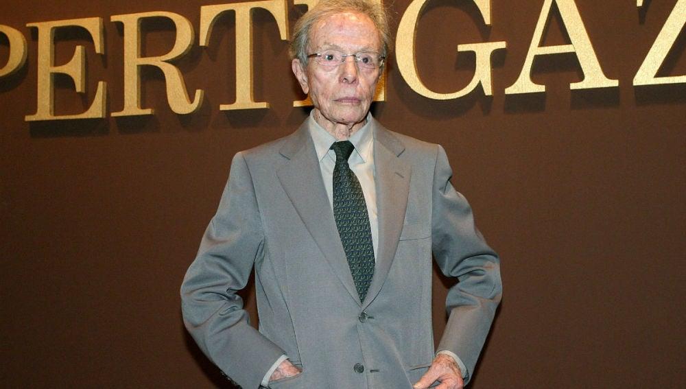 Manuel Pertegaz, el diseñador ha muerto esta madrugada a los 96 años en Barcelona