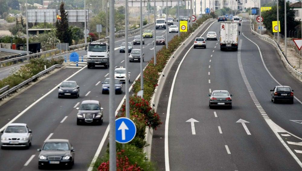 Fluidez en las carreteras españolas en la Operación retorno