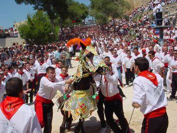 Fiesta de los caballos del vino en Caravaca de la Cruz