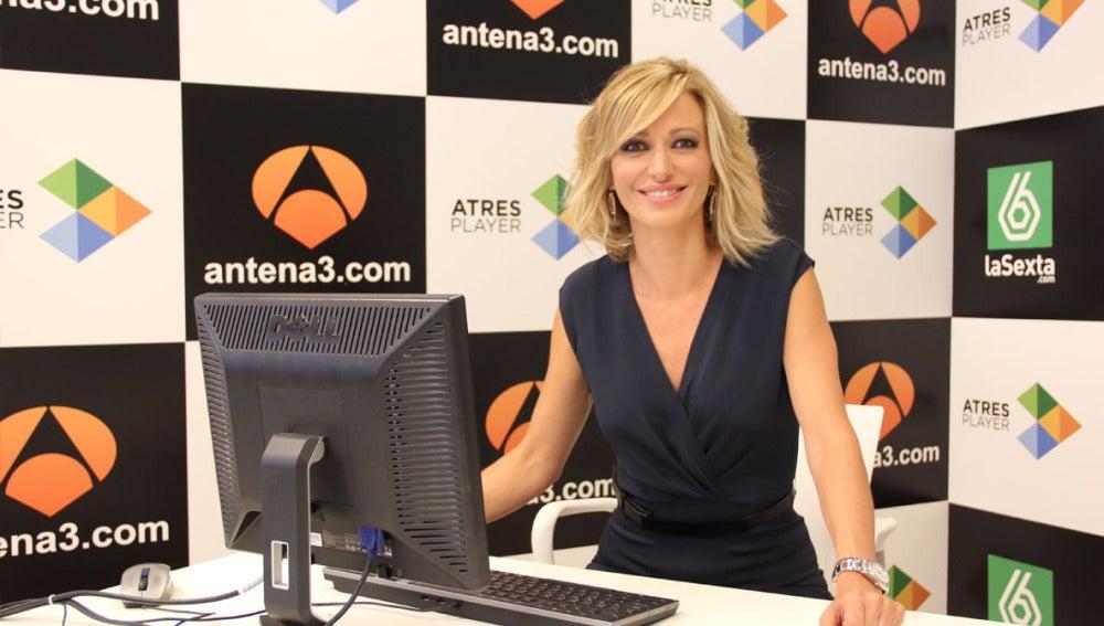 Susanna Griso en el encuentro digital