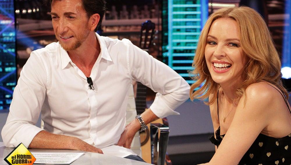 Kylie Minogue en El Hormiguero 3.0