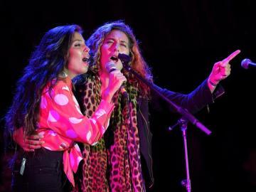 Las hermanas Morente en el Flamenco On Fire