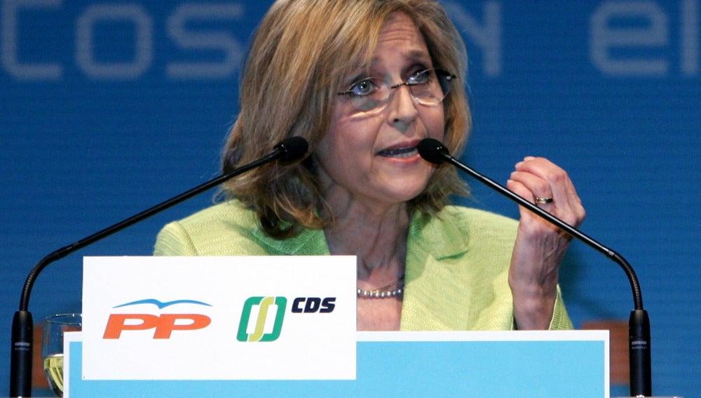 La diputada en la Asamblea de Madrid María Teresa Gómez-Limón
