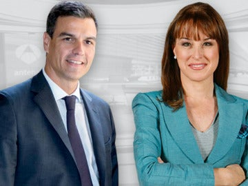 Gloria Lomana entrevista a Pedro Sánchez