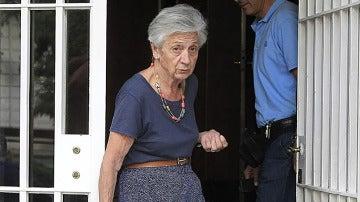 Marta Ferrusola, reconocida católica y nacionalista, figura clave del 'clan Pujol'