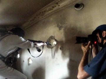 Periodista de guerra en Siria