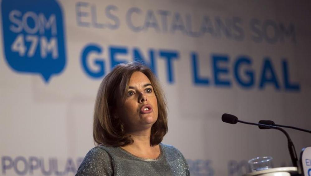 Santamaría, en la Convención del PP catalán