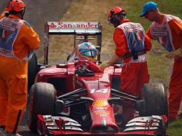 Alonso abandona en Monza