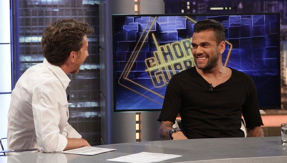Dani Alves en El Hormiguero 3.0