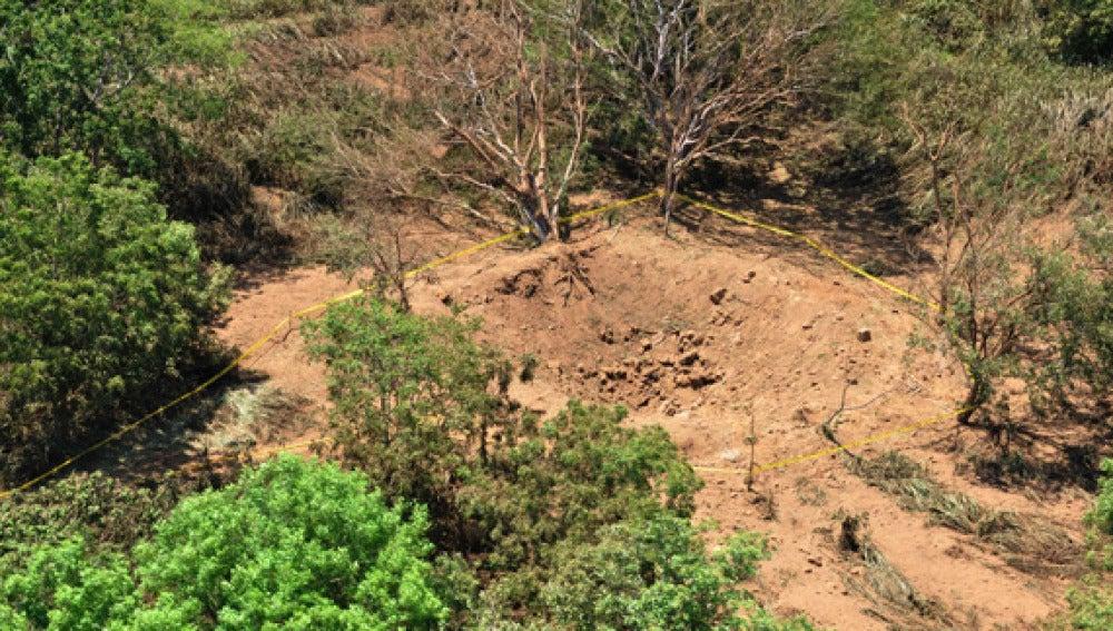 cráter Nicaragua