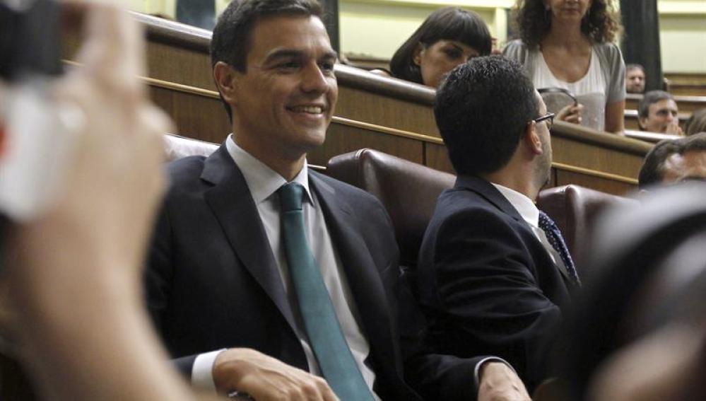 El secretario general del PSOE, Pedro Sánchez,