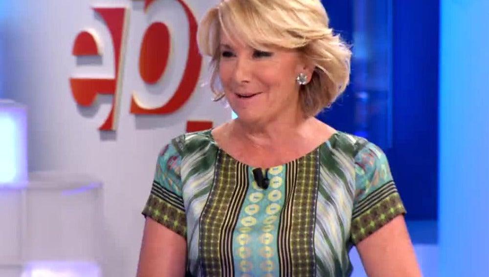 Esperanza Aguirre en EP.