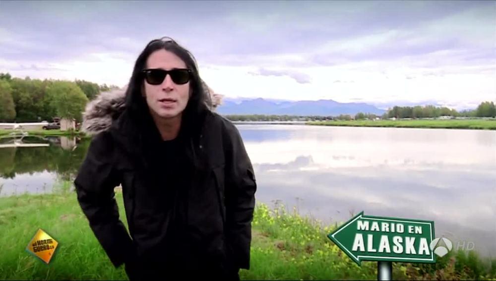 Mario Vaquerizo en Alaska