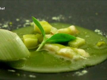 Cocochas con emulsión de algas