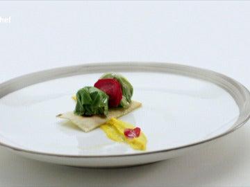 Carabaña en el plato