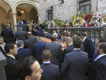 Isidoro Álvarez, enterrado en Madrid
