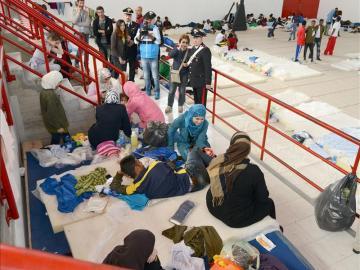 Se hunde una embarcación con 250 inmigrantes africanos en las costas libias
