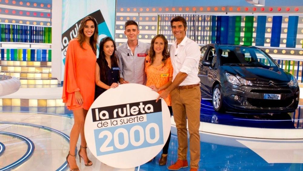 'La Ruleta de la suerte' celebra 2.000 programas como líder indiscutible durante nueve temporadas