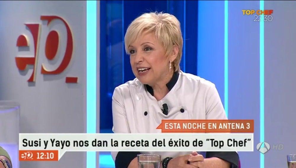Antena 3 tv susi d az en el programa de esta noche de Ver espejo publico de hoy
