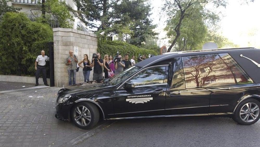 Los restos mortales de Isidoro Álvarez.