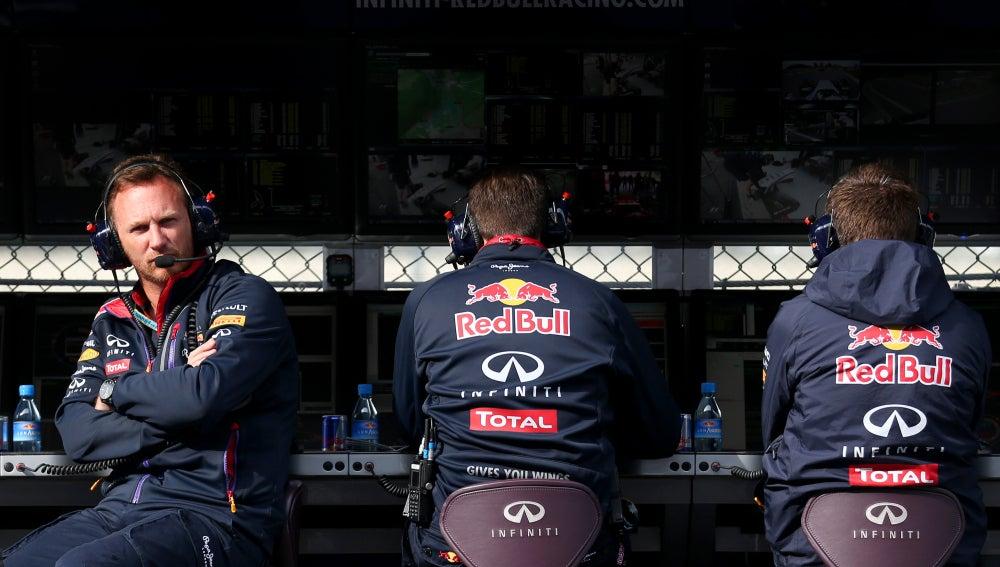 El muro de Red Bull