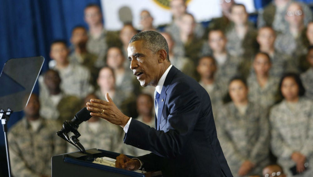 Barack Obama ante la Cámara Baja de EE.UU