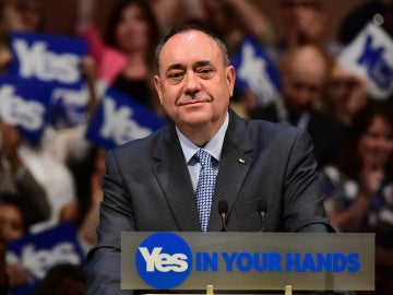 El exprimer ministro escocés, Alex Salmond