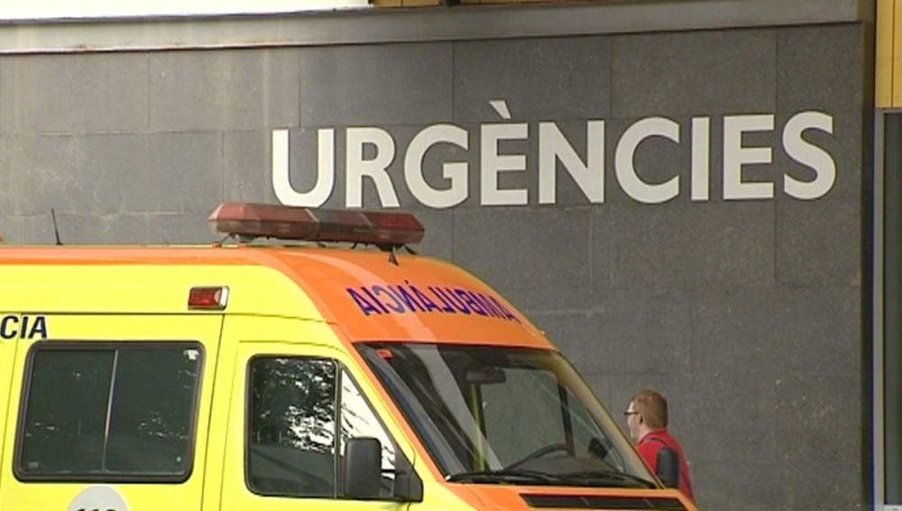 Entrada de Urgencias del Hospital Parc Taulí, de Sabadell.